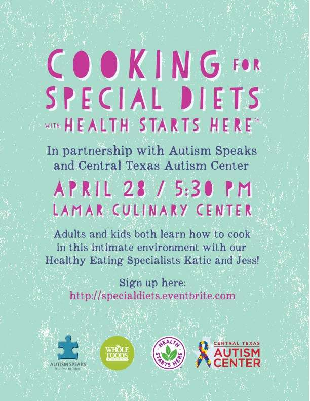 Whole Foods Cooking Class for Autism